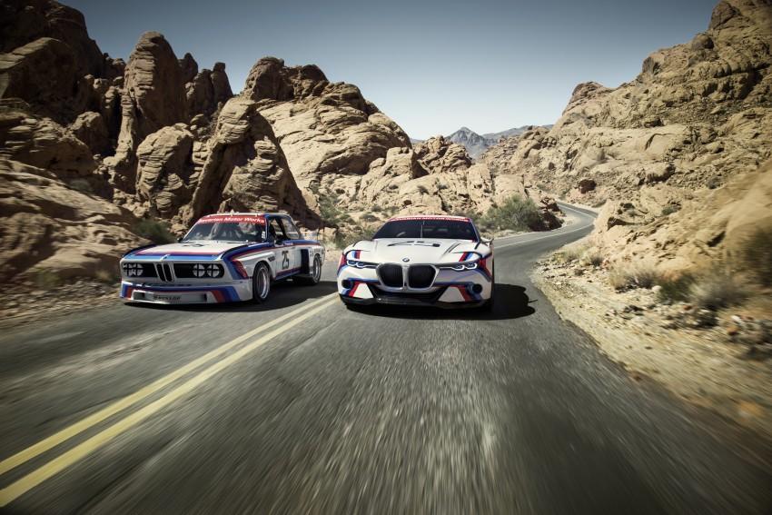 BMW 3.0 CSL Hommage R makes Pebble Beach debut Image #367445