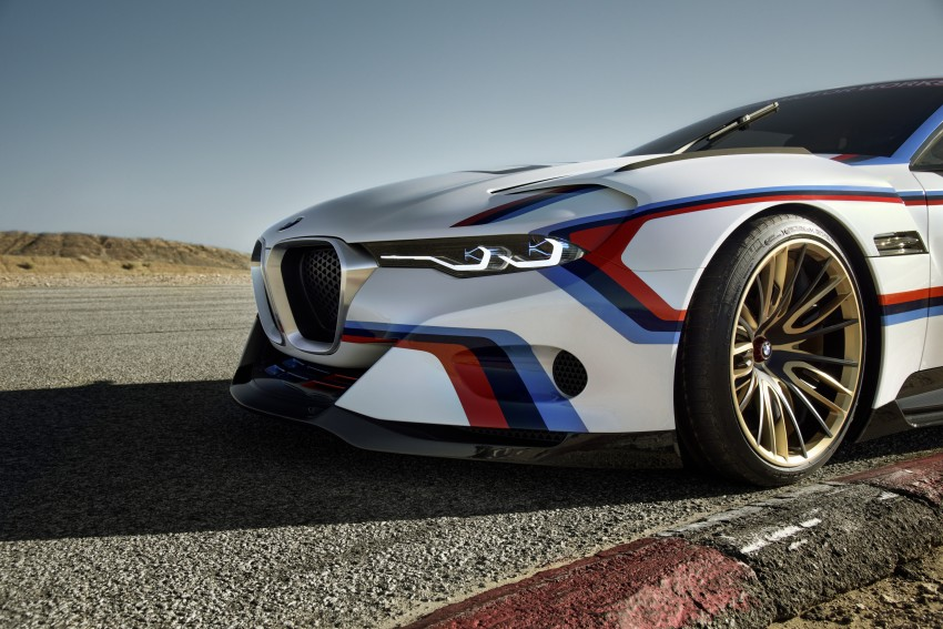 BMW 3.0 CSL Hommage R makes Pebble Beach debut Image #367442