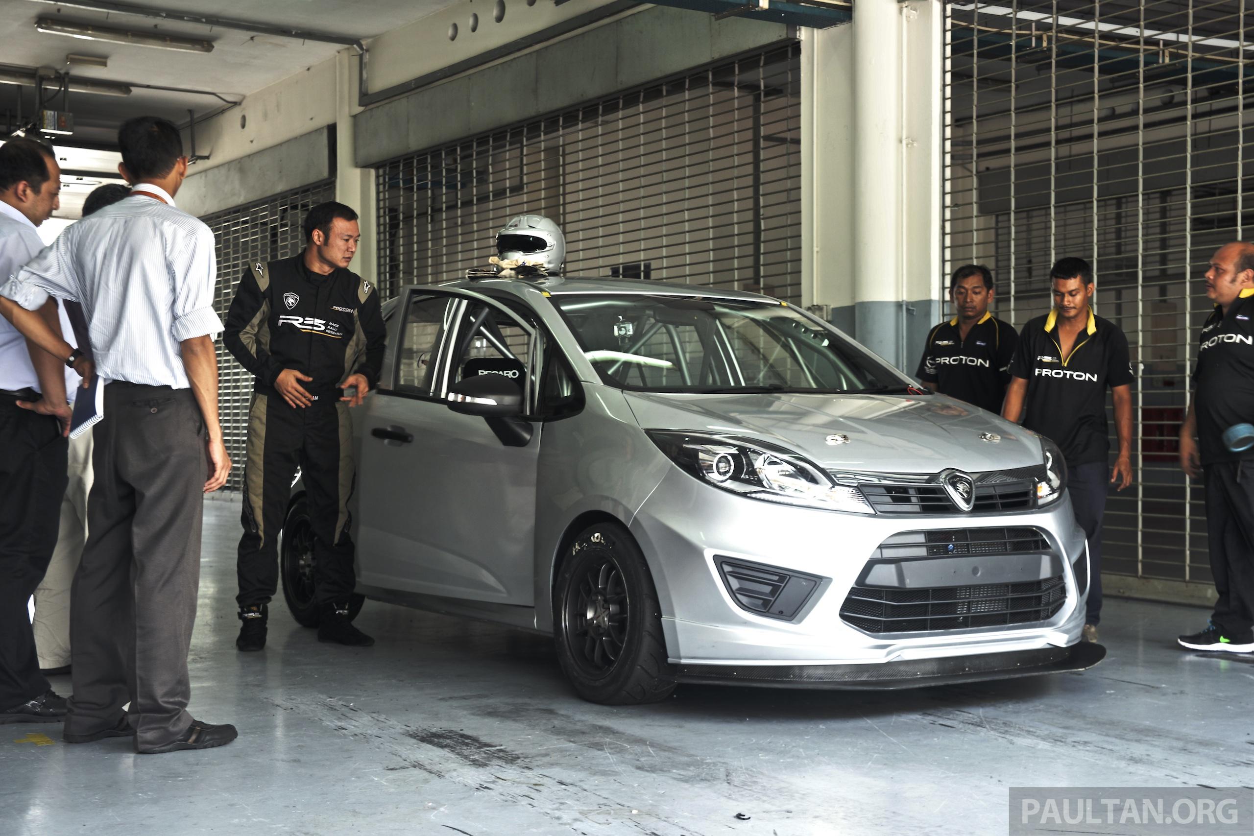 Proton Iriz R3 Malaysian Touring Car – first look at the ...