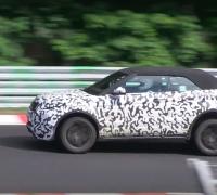 Range Rover Evoque Cabriolet SPY Video 1