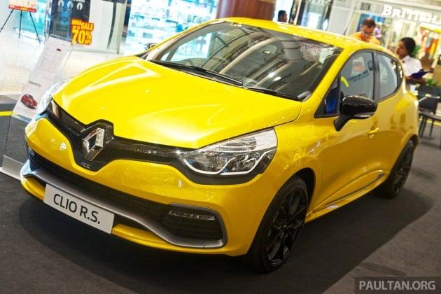 Renault Clio RS 200 EDC Sirius Yellow 1