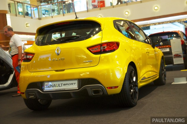 Renault Clio RS 200 EDC Sirius Yellow 38