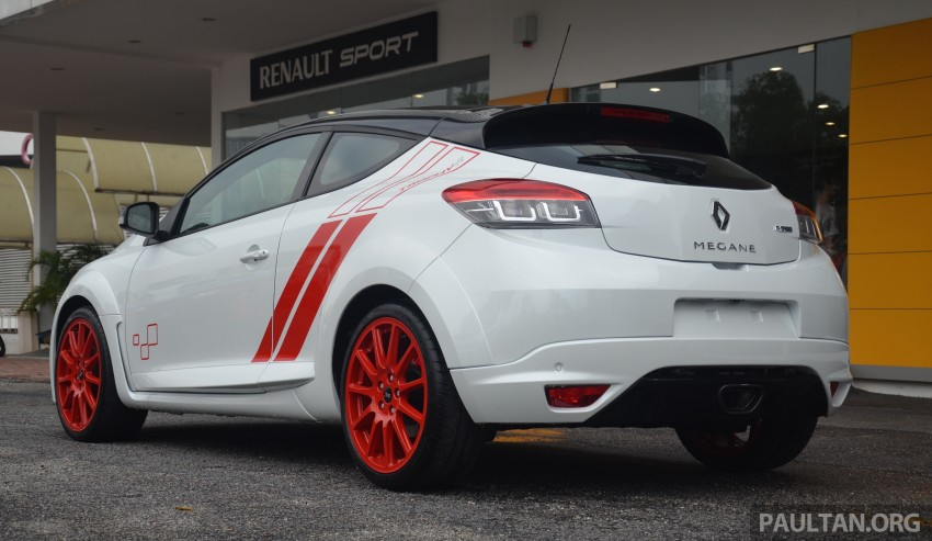 Renault Megane RS 275 Trophy-R launched in Malaysia – only 10 units, priced at RM300,000 each Image #369384