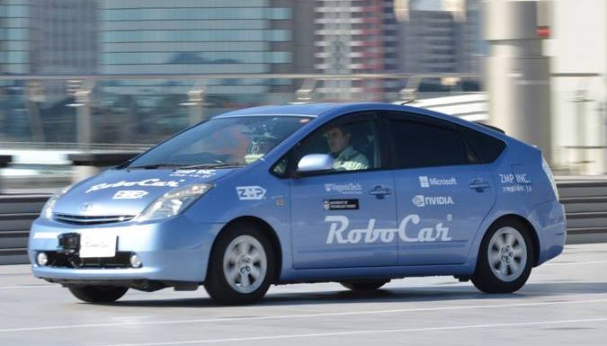 Driverless taxi may make its way to Tokyo Olympics Image #366606