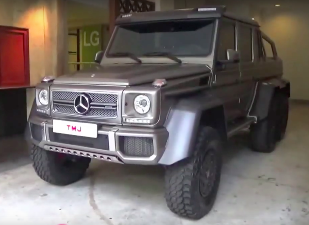 VIDEO: TMJ's cars in KL – Mercedes-Benz G 63 AMG 6x6!