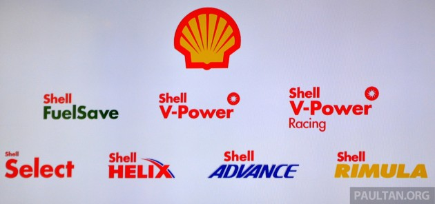 Shell product lineup