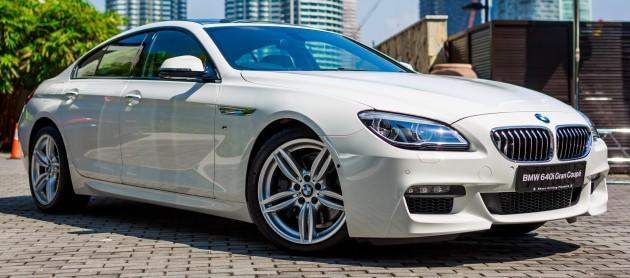 The New BMW 6 Series Gran Coupe 7