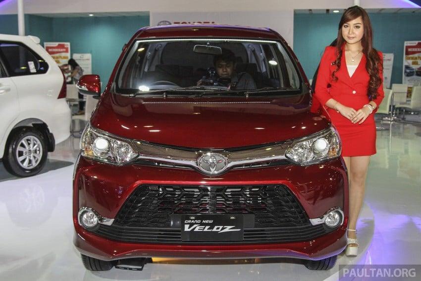 IIMS 2015: Toyota Avanza, Veloz facelift – from RM54k Image #368673