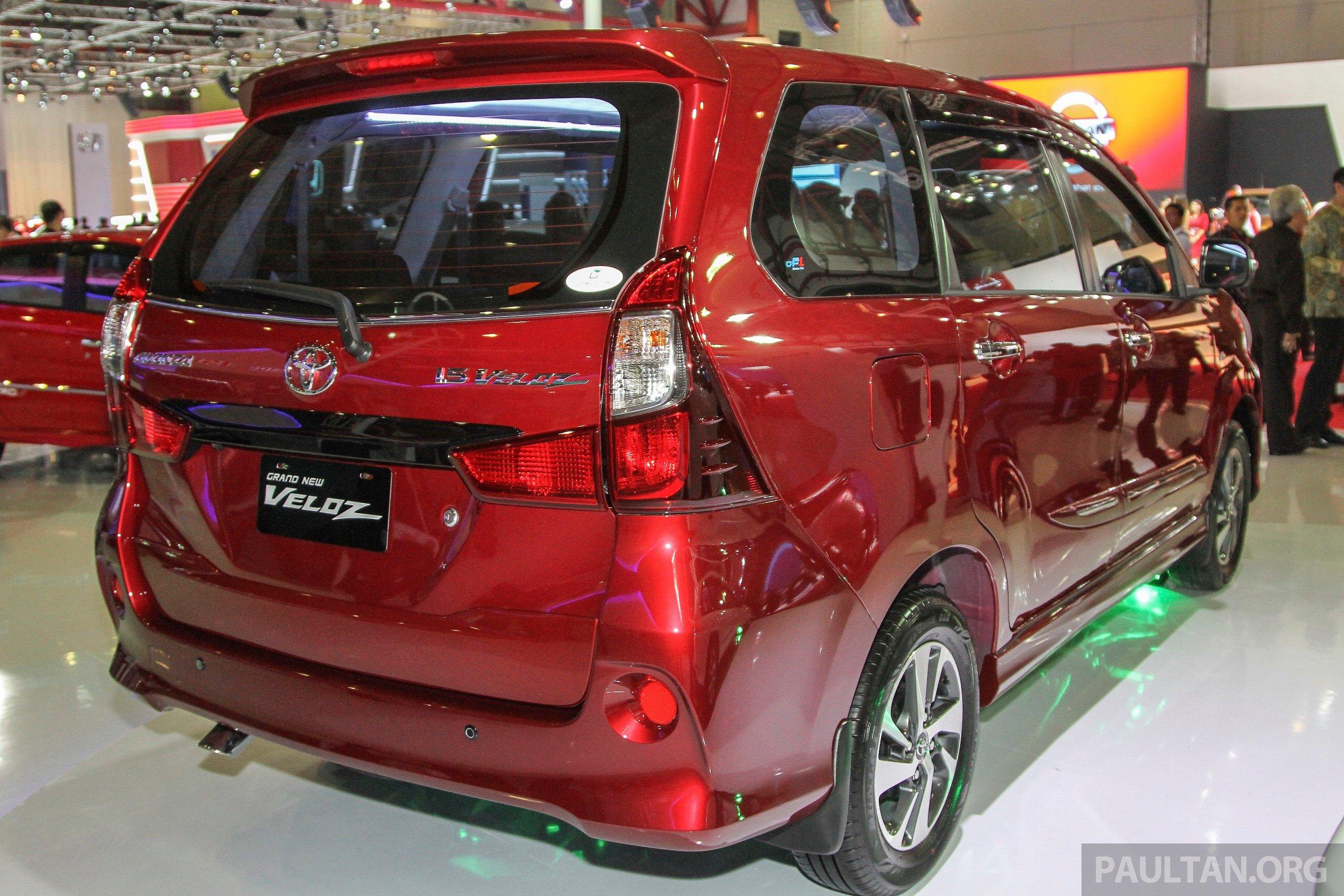 IIMS 2015: Toyota Avanza, Veloz Facelift