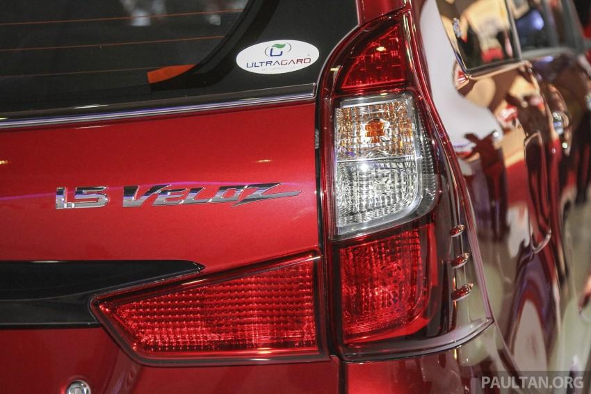IIMS 2015: Toyota Avanza, Veloz facelift – from RM54k Image #368686