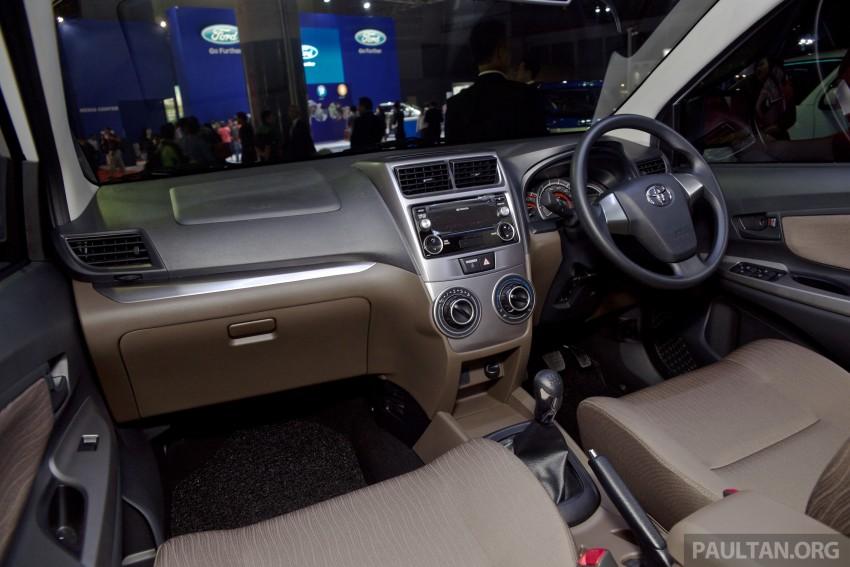 IIMS 2015: Toyota Avanza, Veloz facelift – from RM54k Image #368733