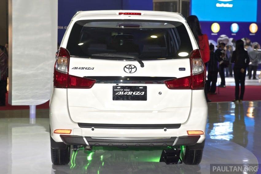 IIMS 2015: Toyota Avanza, Veloz facelift – from RM54k Image #368738