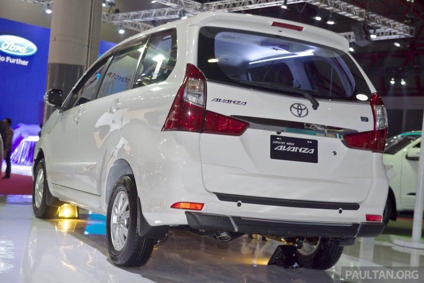 IIMS 2015: Toyota Avanza, Veloz facelift – from RM54k Image #368723