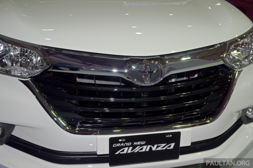 IIMS 2015: Toyota Avanza, Veloz facelift – from RM54k Image #368726