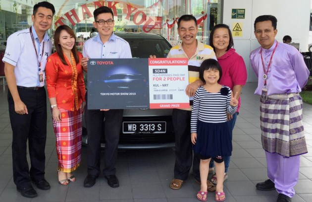 Toyota Buy & Win winners 3