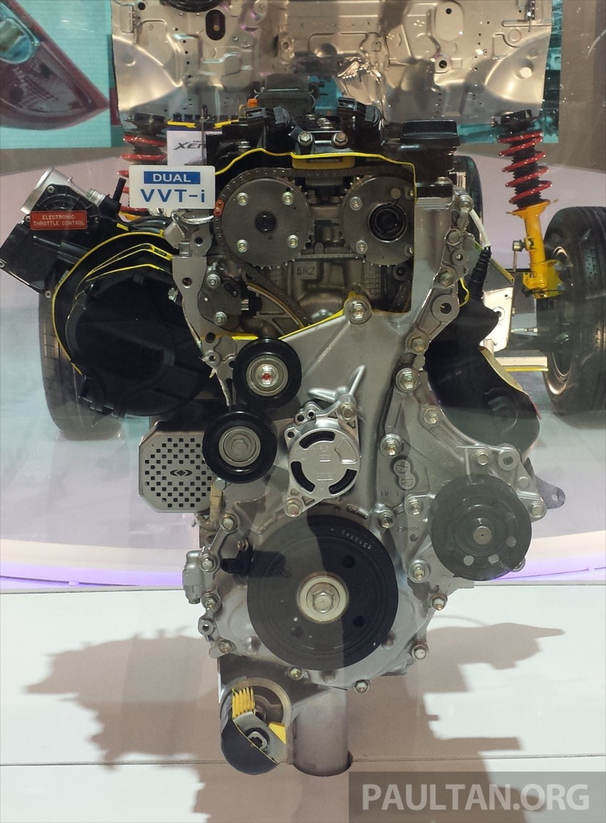 Dual VVT-i Toyota 'NR' engines for Perodua next year Image #369850