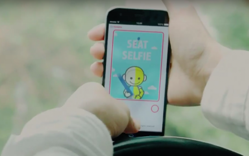 Toyota launches new 'Seat Selfie' seat belt mobile app Image #370461