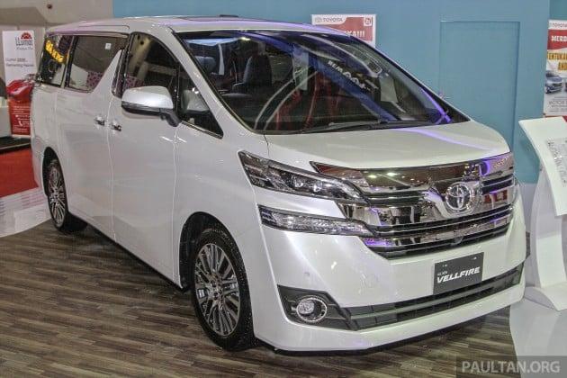 Toyota Vellfire 1