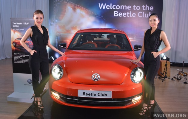 VW Beetle Club Edition launched – 50 units, RM153k