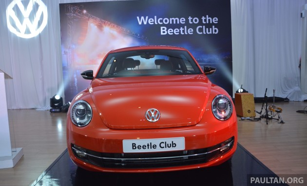 VW Beetle Club launch 2