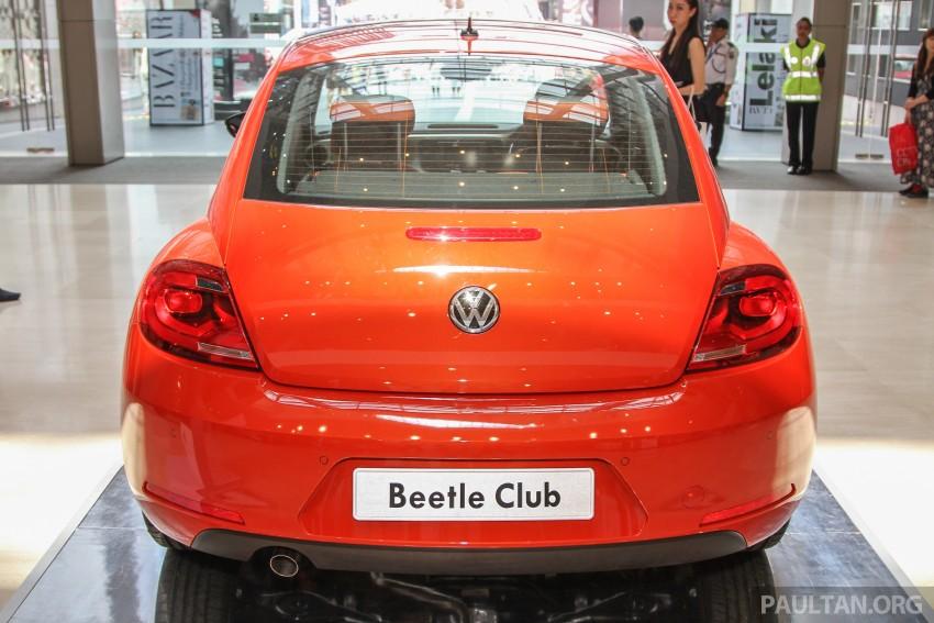 GALLERY: Volkswagen Beetle Club Edition – 50 units Image #367219