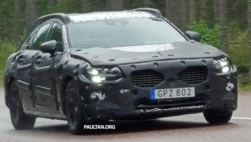 SPYSHOTS: Volvo S90 – new flagship sedan on test Image #370360