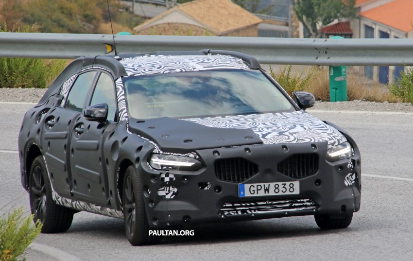 SPYSHOTS: Volvo S90 – new flagship sedan on test Image #377771