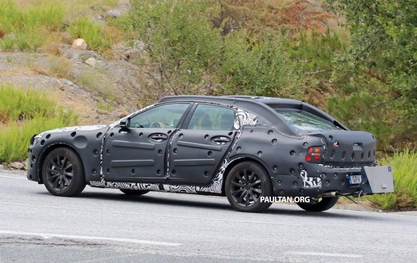 SPYSHOTS: Volvo S90 – new flagship sedan on test Image #377767