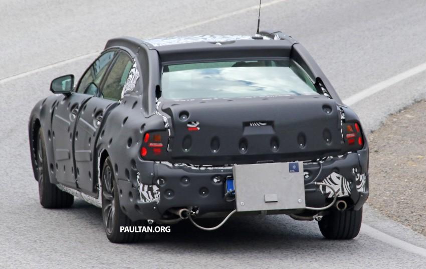 SPYSHOTS: Volvo S90 – new flagship sedan on test Image #377766