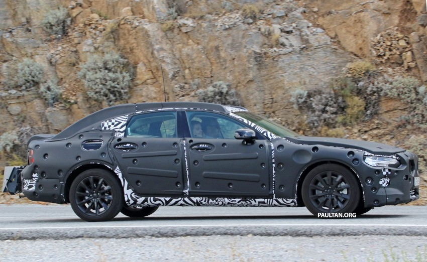SPYSHOTS: Volvo S90 – new flagship sedan on test Image #377762