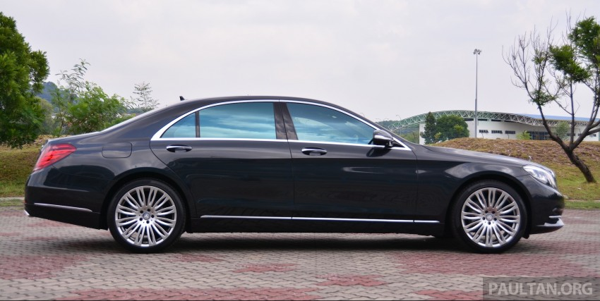 GALLERY: Mercedes-Benz S-Class – W222 vs W221 Image #371829