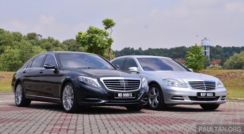 GALLERY: Mercedes-Benz S-Class – W222 vs W221 Image 371814
