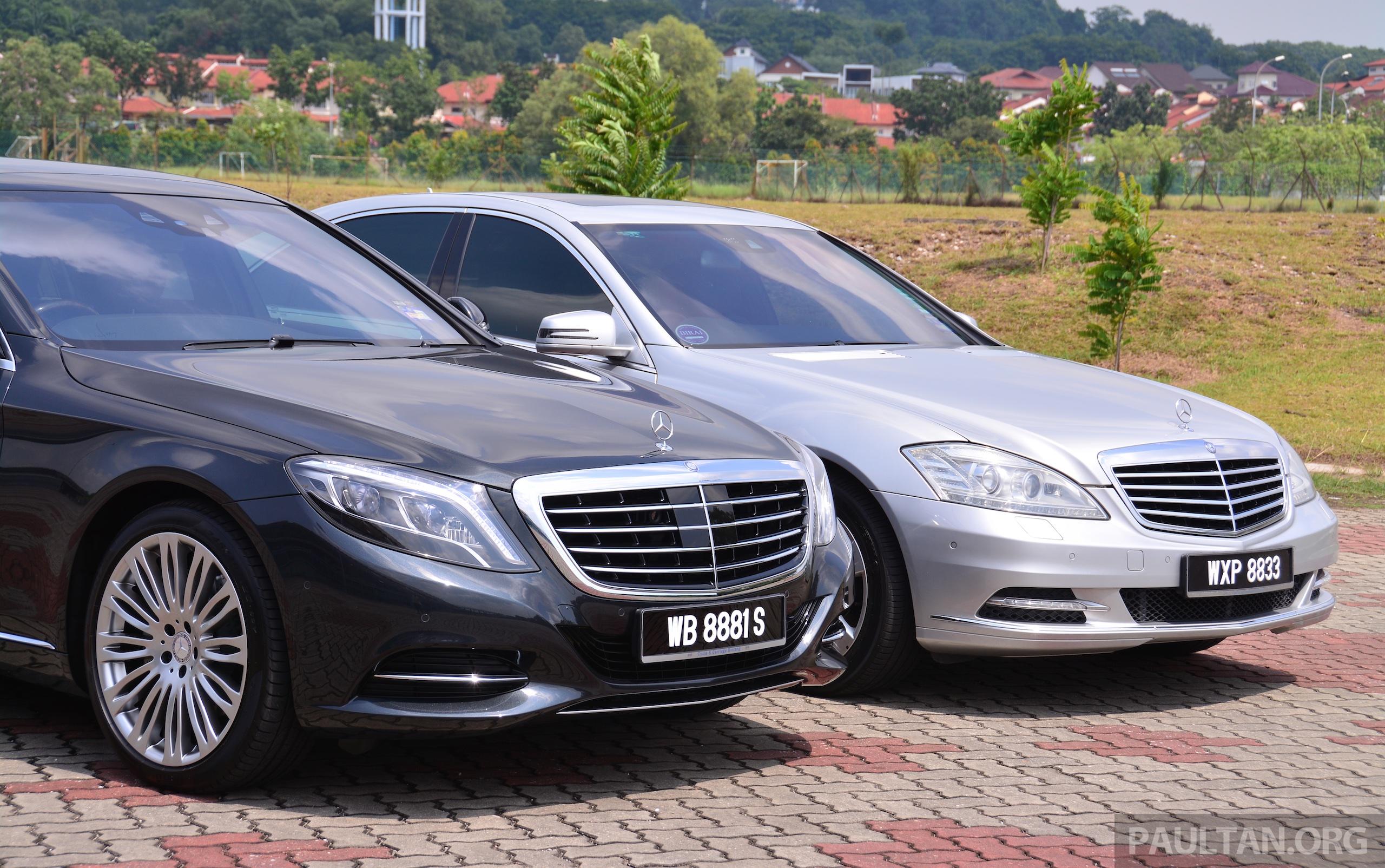 GALLERY: Mercedes-Benz S-Class – W222 vs W221 Image 371816