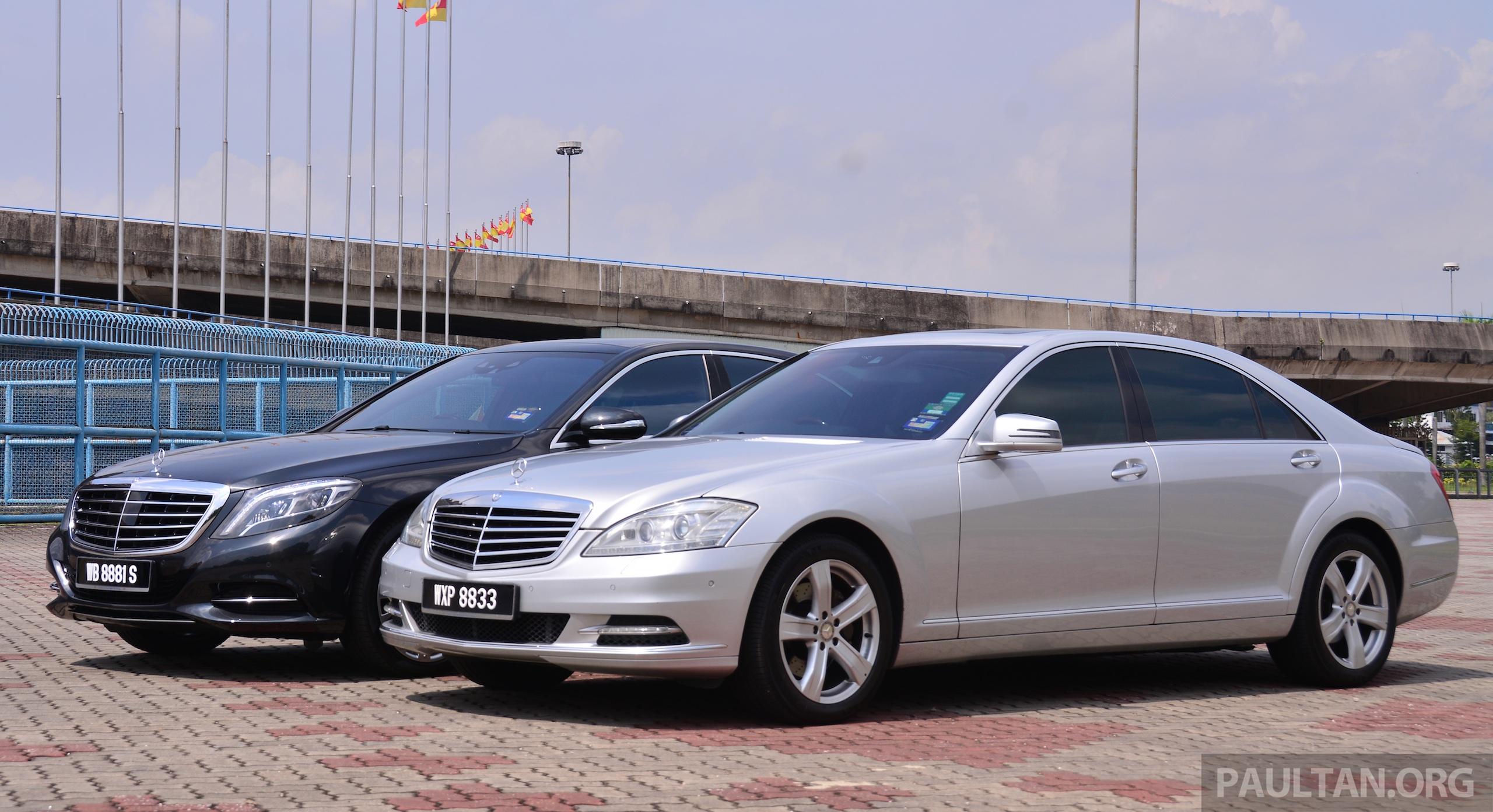 GALLERY: Mercedes-Benz S-Class – W222 vs W221 Image 371817