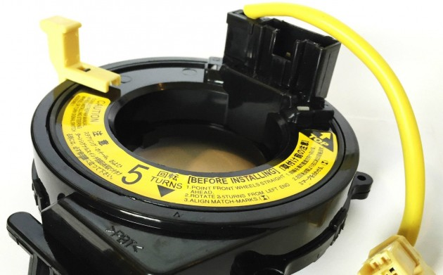 airbag spiral cable