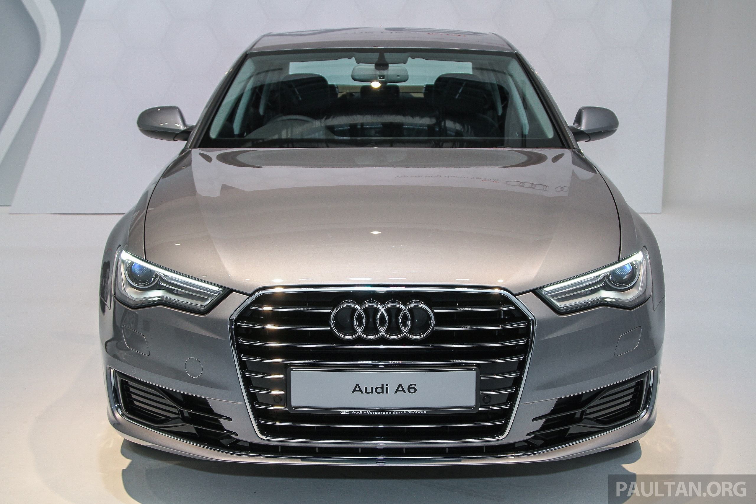 audi a6 facelift launched in malaysia from rm325k image 376039. Black Bedroom Furniture Sets. Home Design Ideas