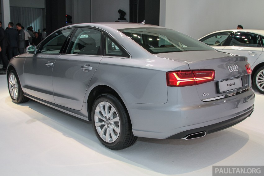 Audi A6 facelift launched in Malaysia – from RM325k Image #376050