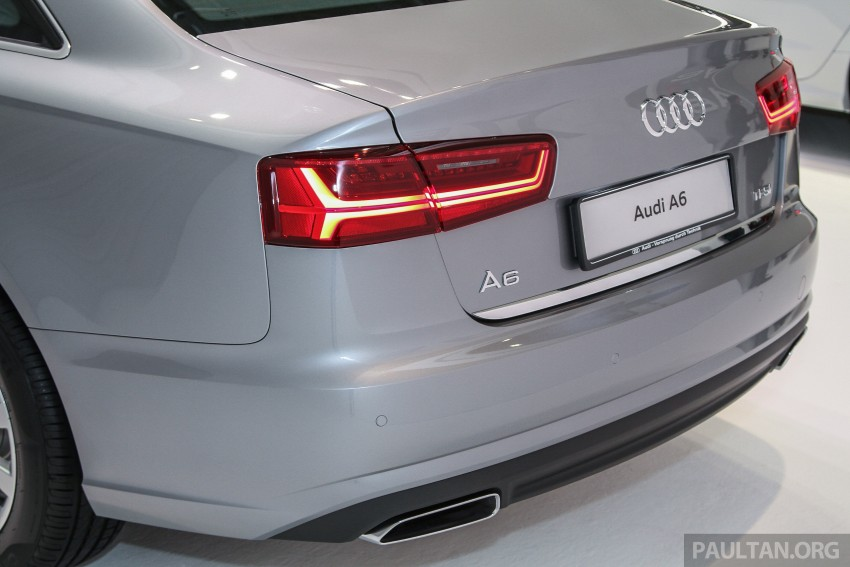 Audi A6 facelift launched in Malaysia – from RM325k Image #376051