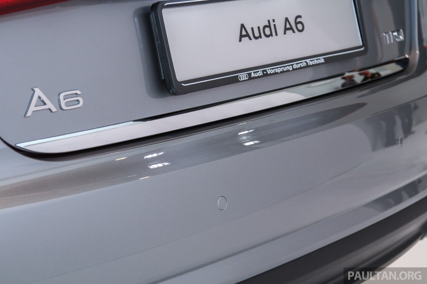Audi A6 facelift launched in Malaysia – from RM325k Image #376055