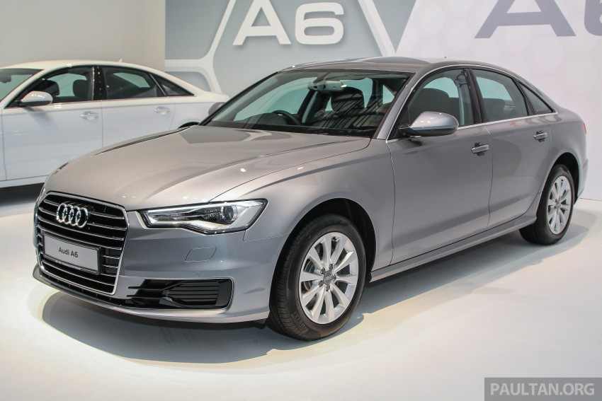 Audi A6 facelift launched in Malaysia – from RM325k Image #376040