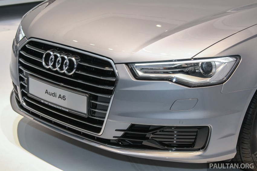 Audi A6 facelift launched in Malaysia – from RM325k Image #376041
