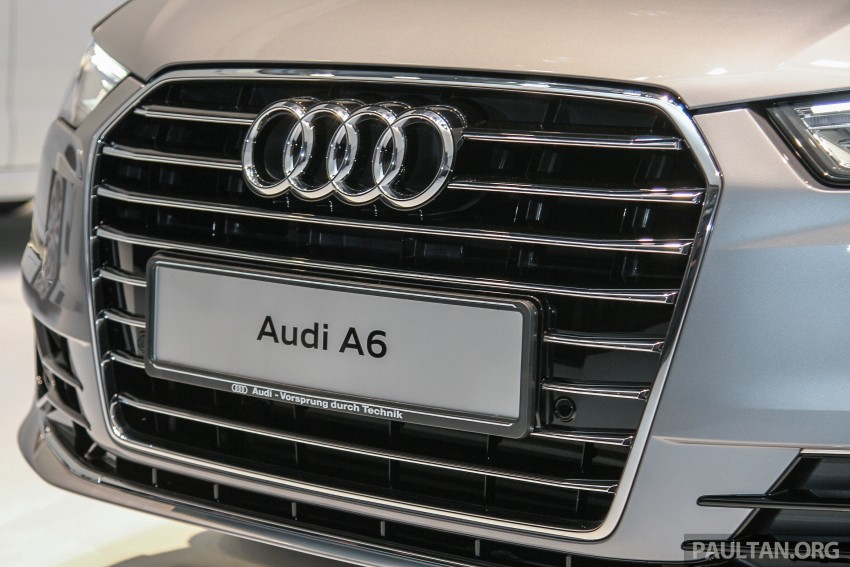 Audi A6 facelift launched in Malaysia – from RM325k Image #376043