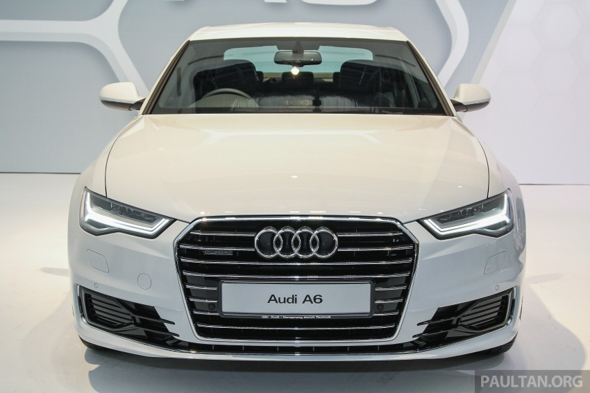 Audi A6 facelift launched in Malaysia – from RM325k Image #376089