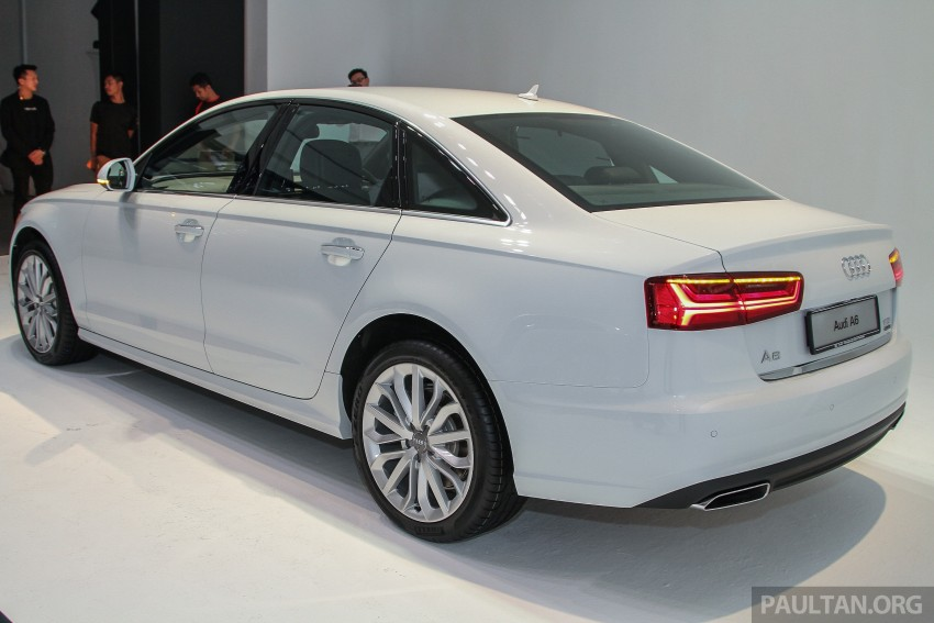 Audi A6 facelift launched in Malaysia – from RM325k Image #376100