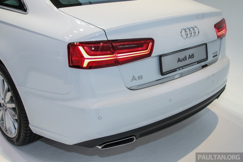Audi A6 facelift launched in Malaysia – from RM325k Image #376101