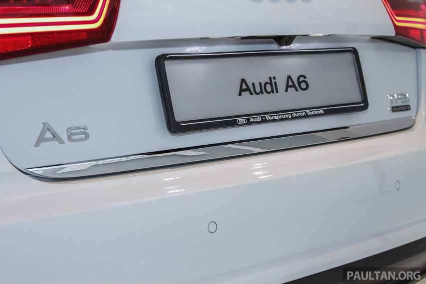 Audi A6 facelift launched in Malaysia – from RM325k Image #376105