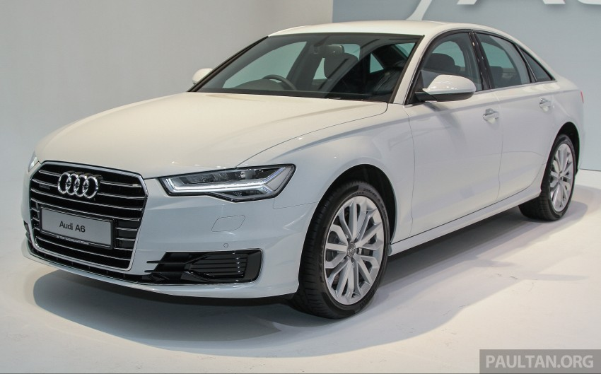 Audi A6 facelift launched in Malaysia – from RM325k Image #376090