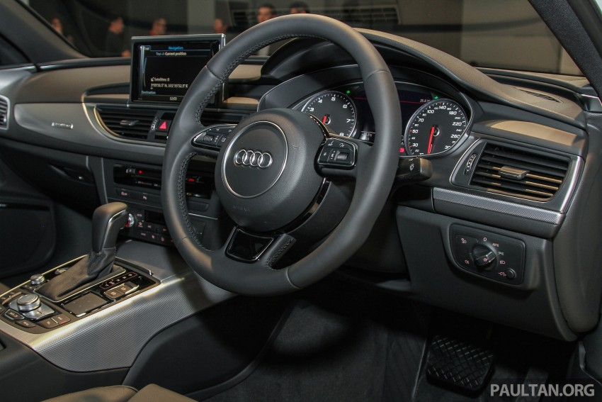 Audi A6 facelift launched in Malaysia – from RM325k Image #376110