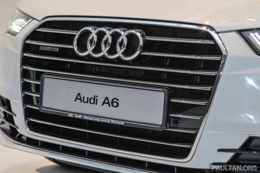 Audi A6 facelift launched in Malaysia – from RM325k Image #376093