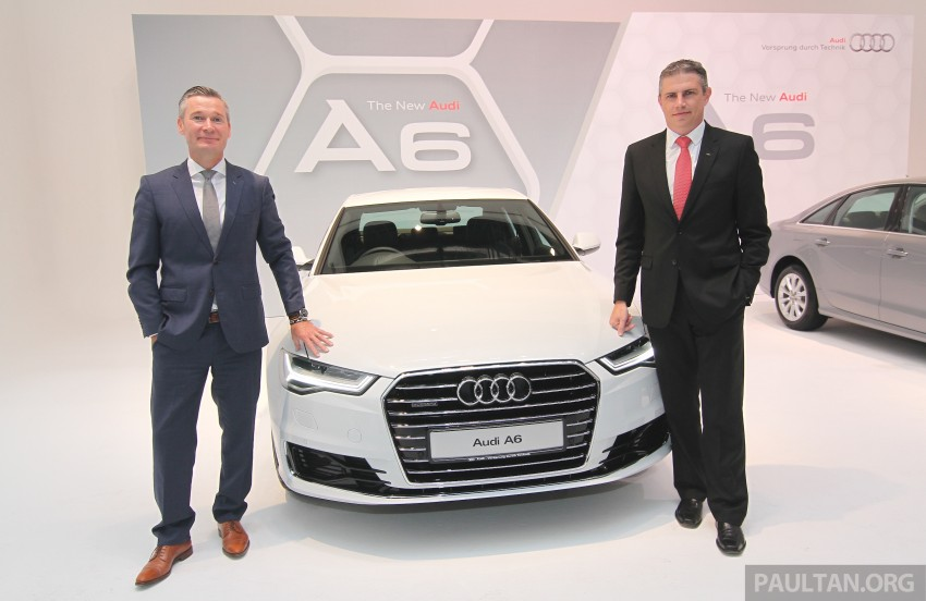 Audi A6 facelift launched in Malaysia – from RM325k Image #370842